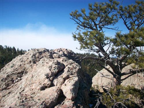 Summit  of Arthur\'s Rock