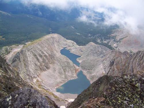 Spectacle Lakes from the...