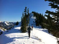 Bullion-Crown Point Winter Traverse