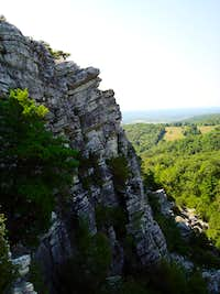 View from Bonticou Crag