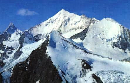Bishorn is the summit at the...