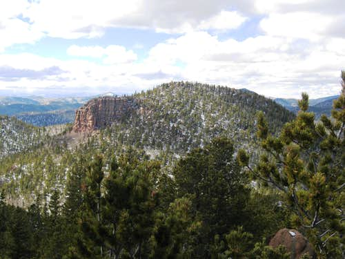 Awesome rocks on Knights Peak