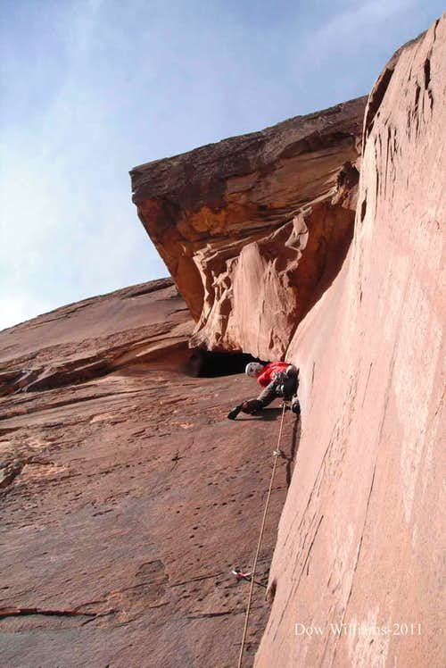Time's Up, 5.11d, 6 Pitches