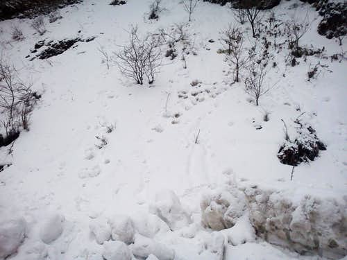 Snow in Murree