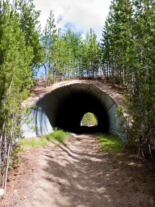 Howlock Trail Start - Under Hwy 138