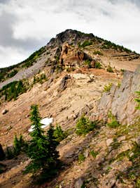 Hollys Ridge and False Summit