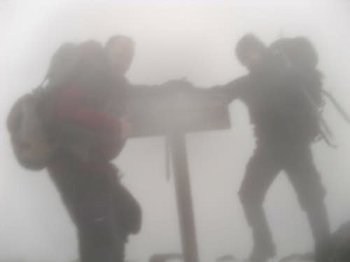 cloudy summit