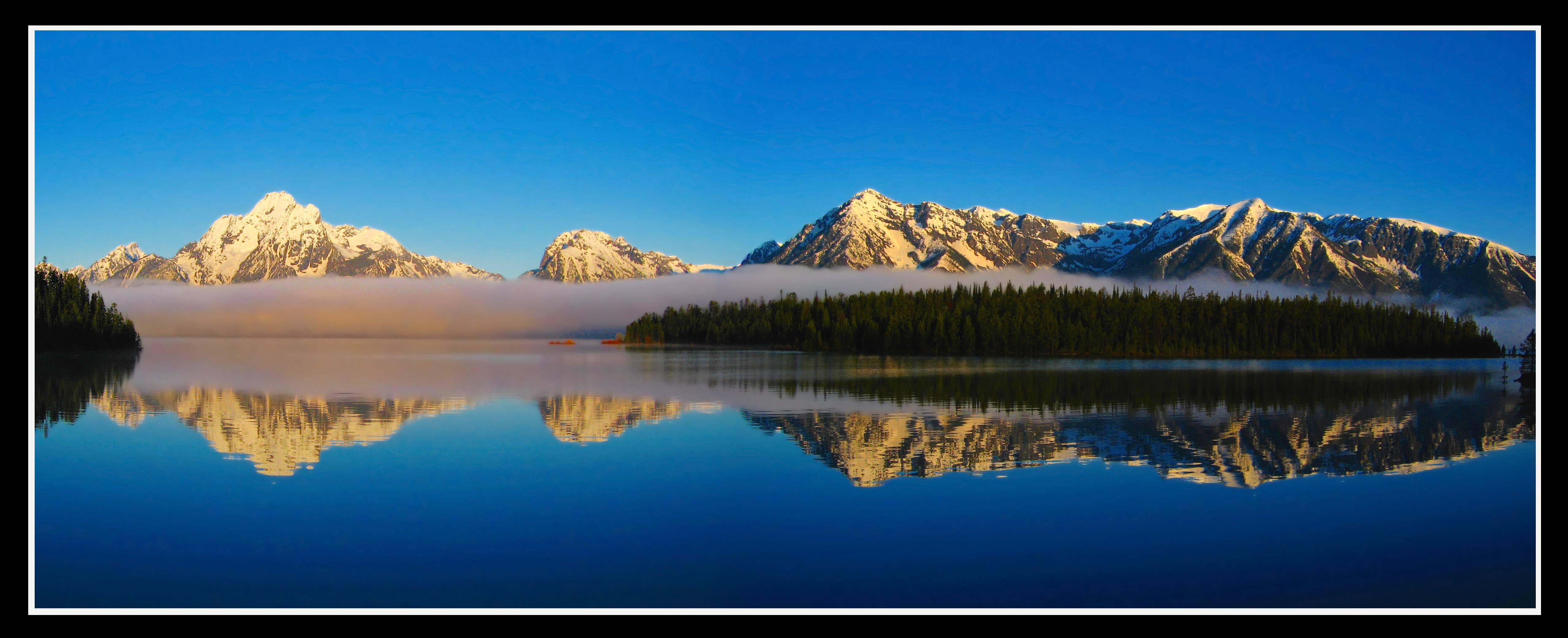 The Grand Tetons and Yellowstone