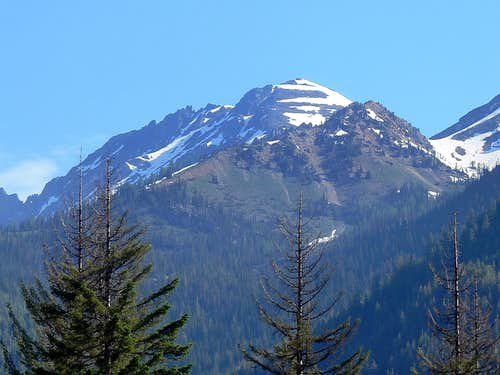 Mount Maude s South Face