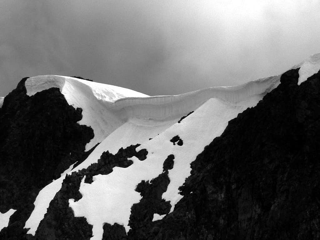 Cornice on Red Mountain