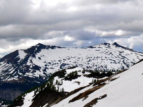 Cloudy and North Star Peak