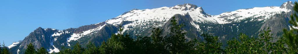 Philips Creek Trailhead Panorama