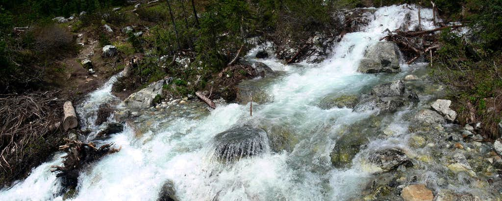 Philips Creek's Flowing Water