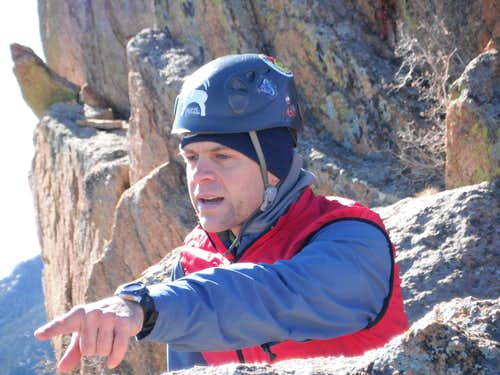Pete in focus
