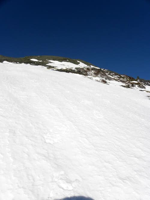 Snowfield on Marcy