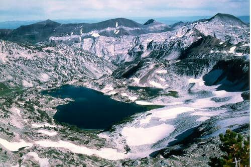 This is Glacier Lake from the...