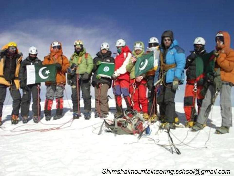 The First Pakistani Women Winter expedition 2010-2011
