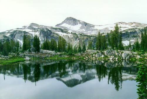 Eagle Cap and Sunshine Lake...