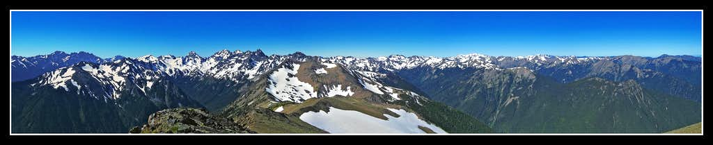 Grey Wolf Summit Panorama