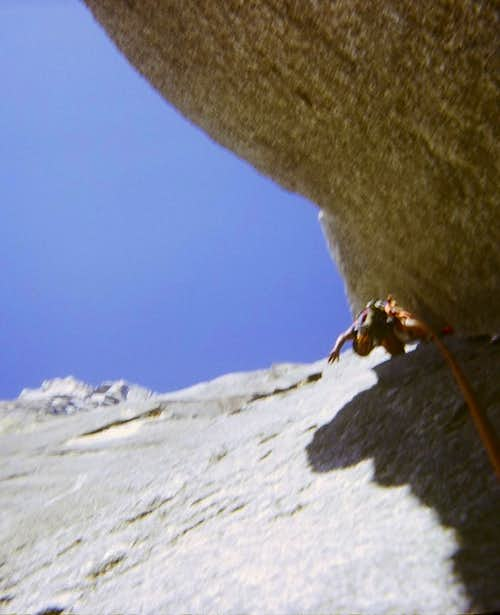 On the third pitch