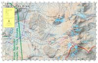 Tres Cruces Map