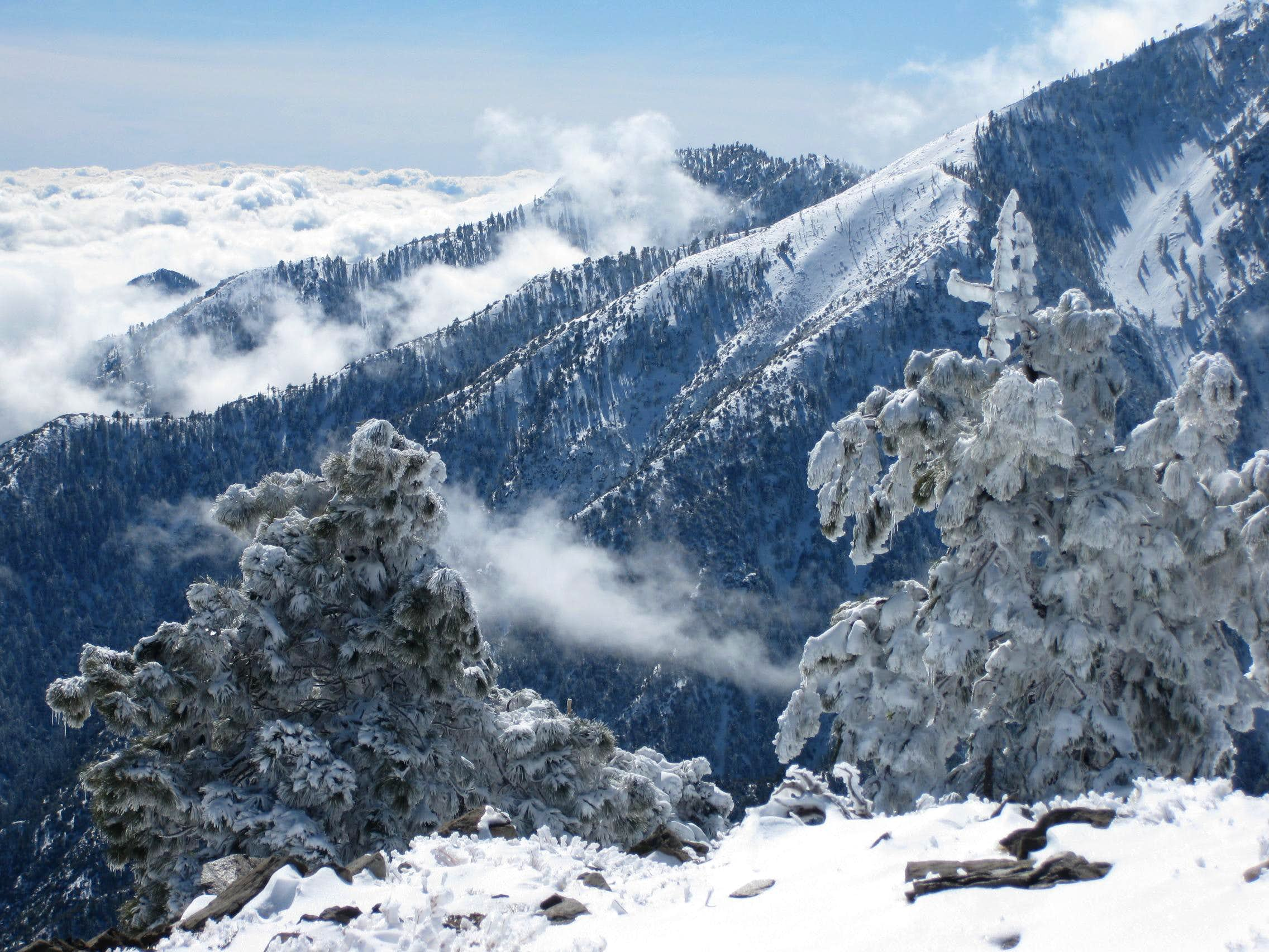More Fantasy Than Adventure: Ice Sculptures in the San Gabriels