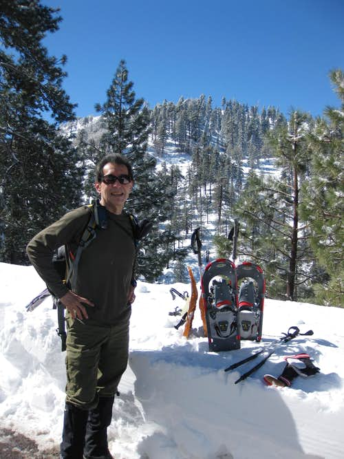 Snow Shoeing near Wrightwood, CA