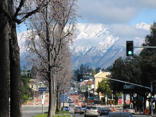 View from My Home Town, So. Pasadena, CA