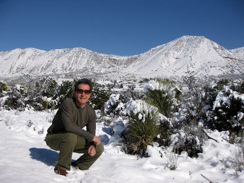 Profile Pic-Mojave Desert in White