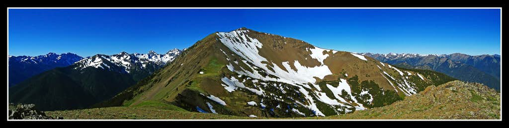 Baldy Summit Panorama