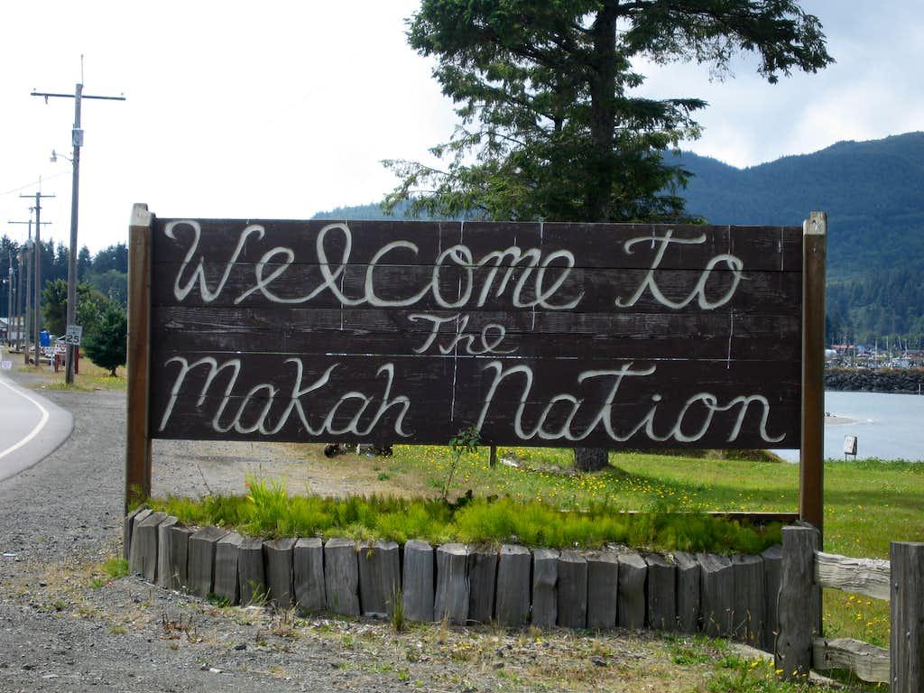 Entering the Makah Nation