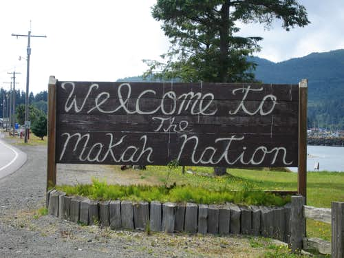 Entering the Makah Nation
