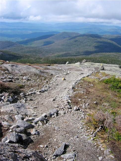 Trail near the summit of...