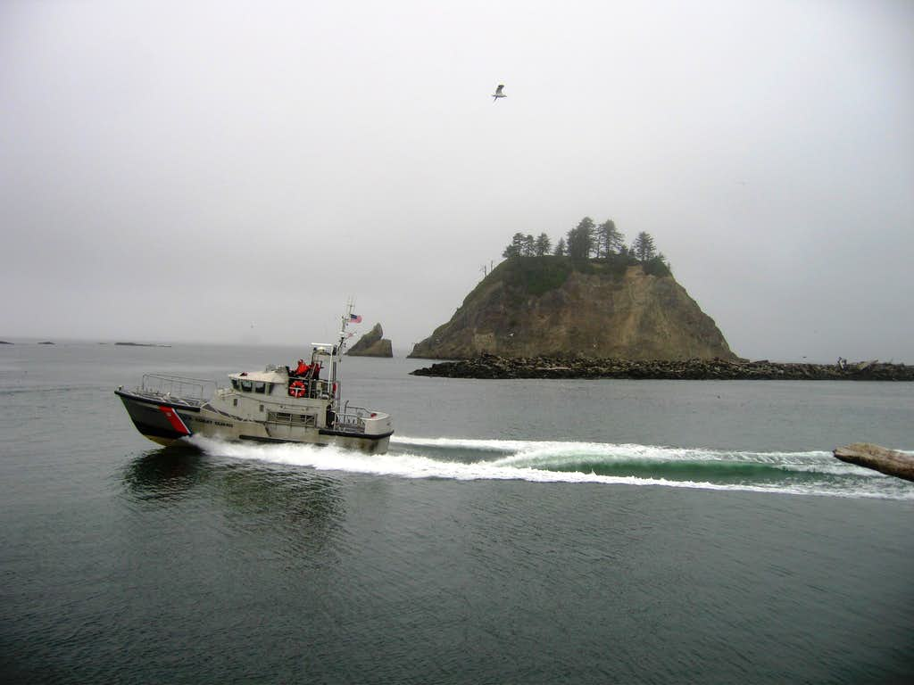Coast Guard at First Beach