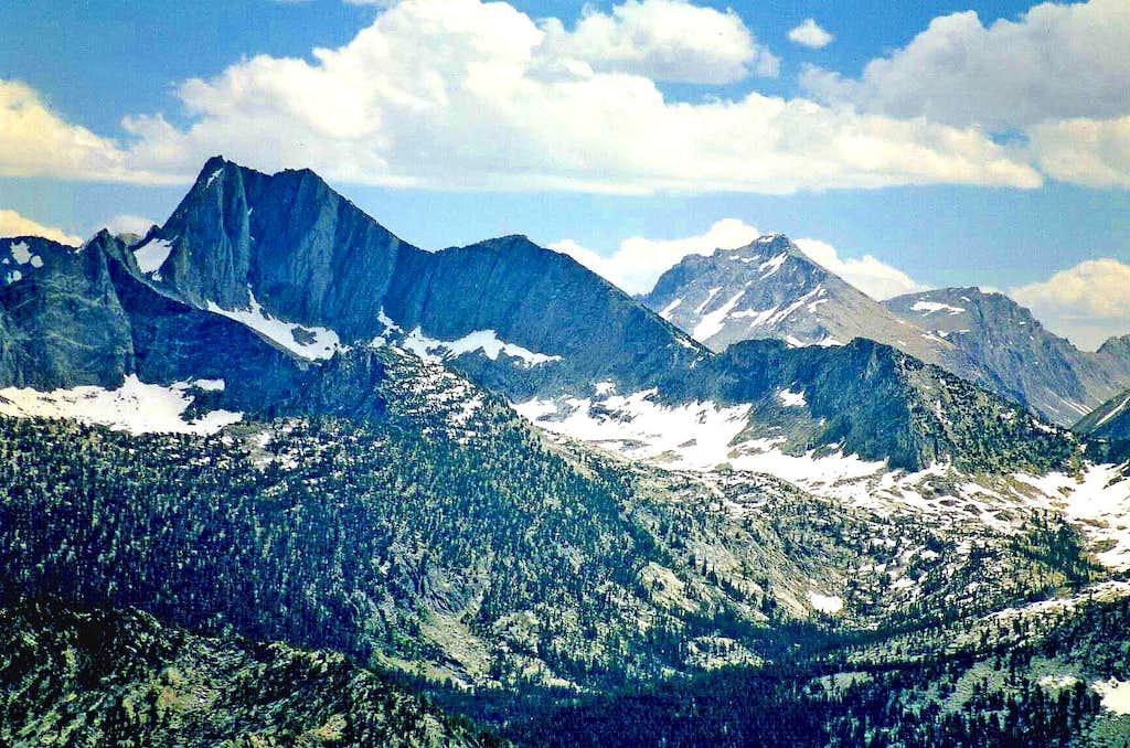 Mt. Gardiner and University Peak