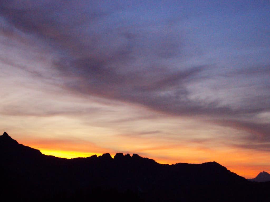 Sunrise from the Katwalk