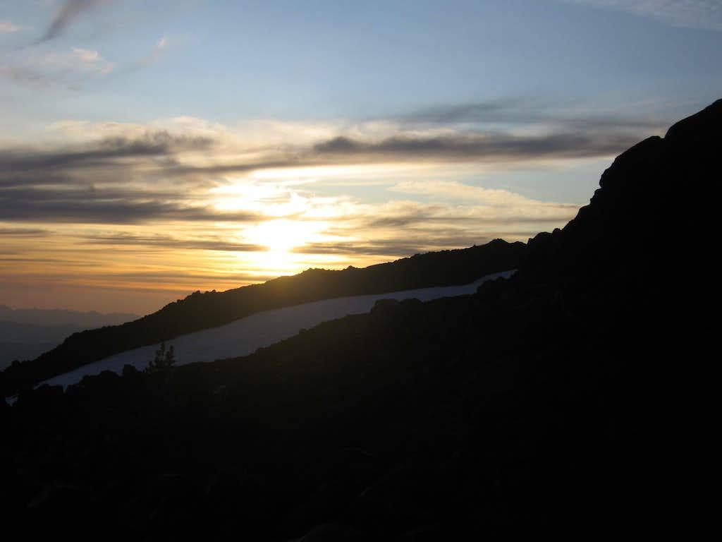 Sunset on Adams