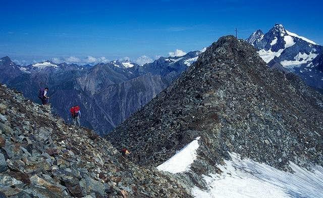 on the ridge of Boeses...