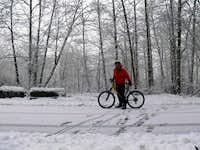 A Winter Bike Ride