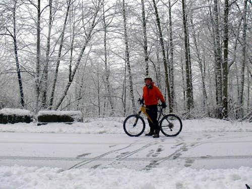A Winter Bike Ride
