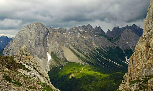 Monte Lastroni and Campanili del Rinaldo