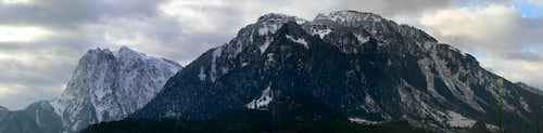 Mount Index and Persis Panorama