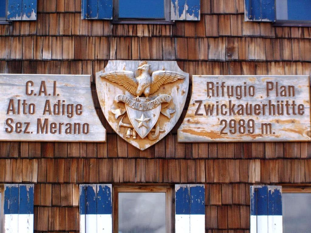Zwickauerhütte / Rifugio Plan