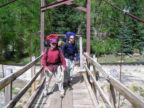 9 Sep 2004 - Crossing the...