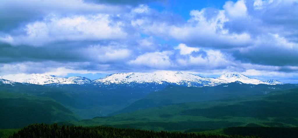 Three Sisters from Olallie