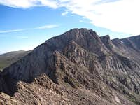 Looking Down the Sawtooth