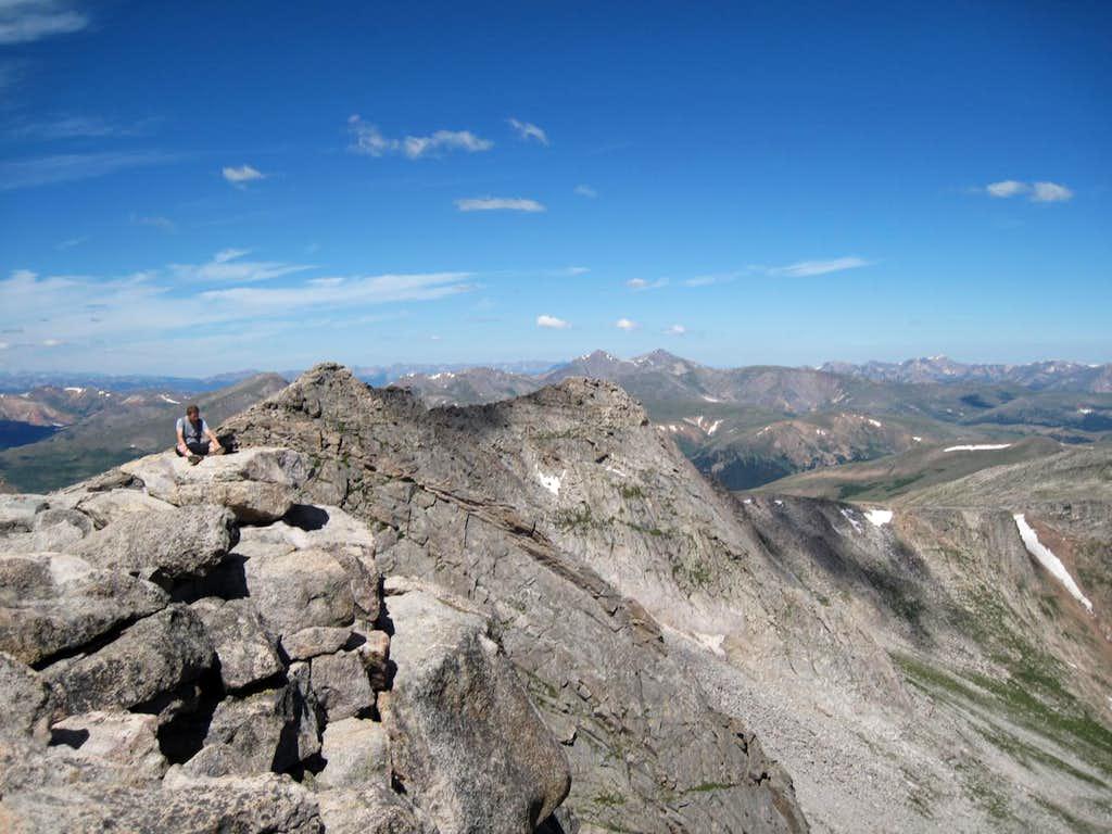 Summit Mt. Evans
