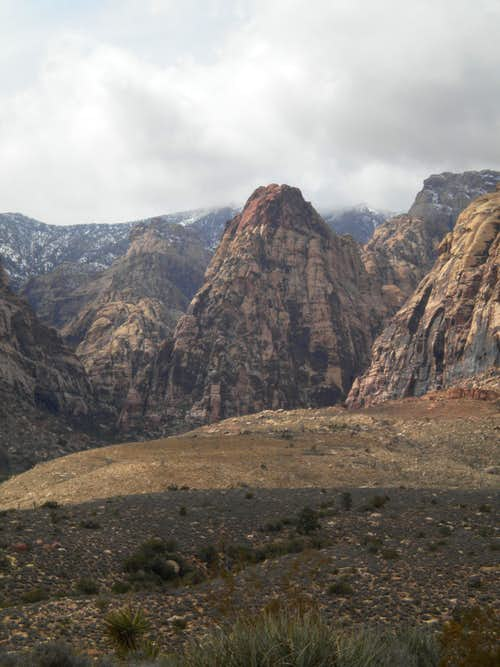 Red Rock\'s iconic tower