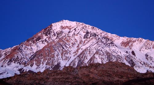 Mt Tom at Sunrise