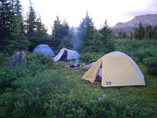 Camping by Donald\'s Lake